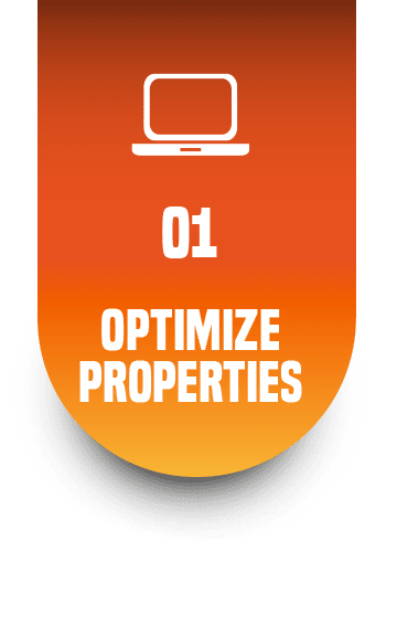 Optimize Online Properties - Websites and local listings