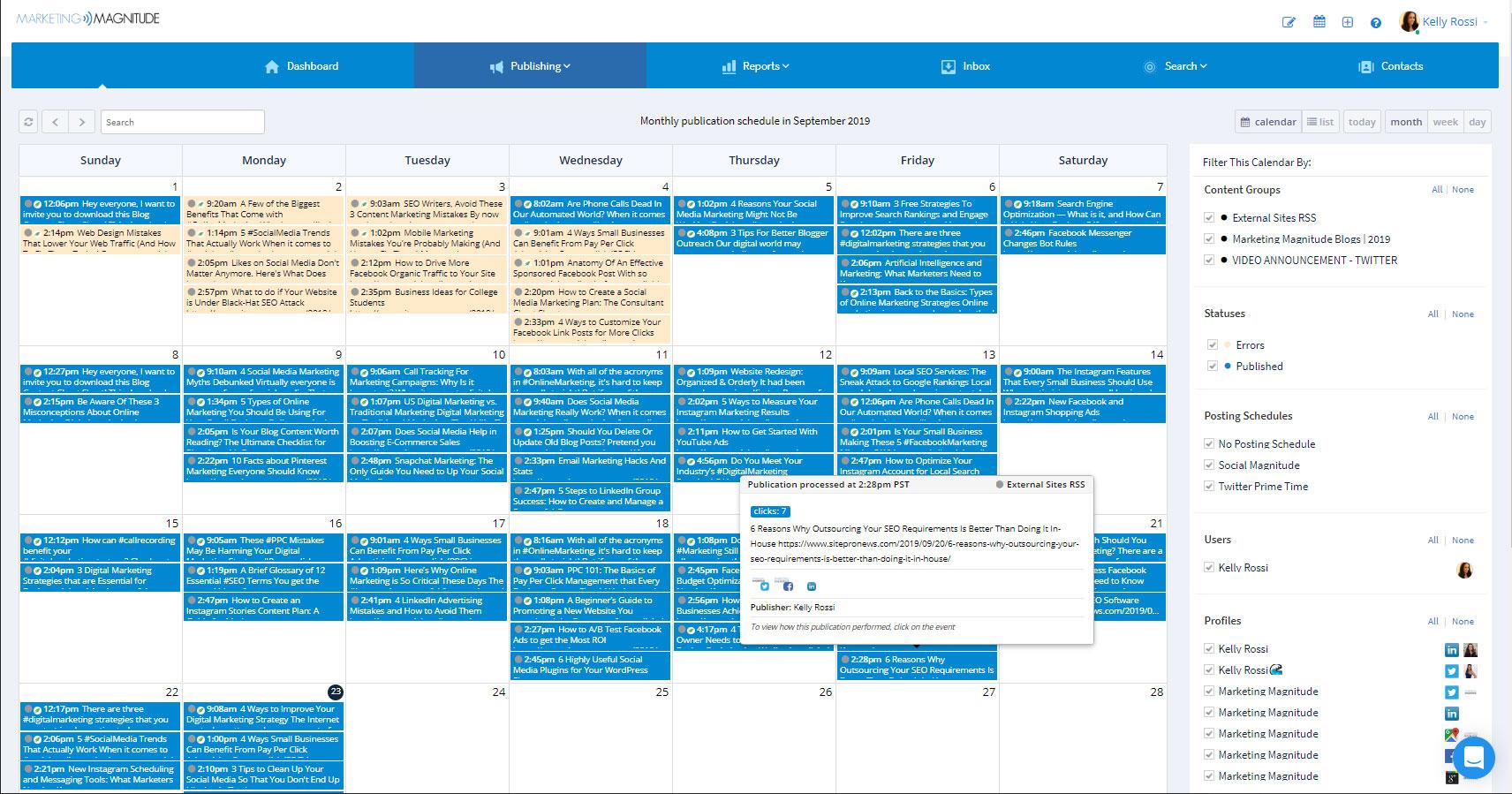 Social Media Marketing Scheduling Software